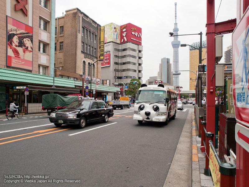 雷門通りから東京スカイツリーを望む - photo13