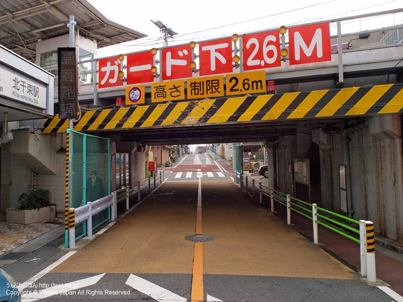 北千束駅前の通りの景色 - photo12