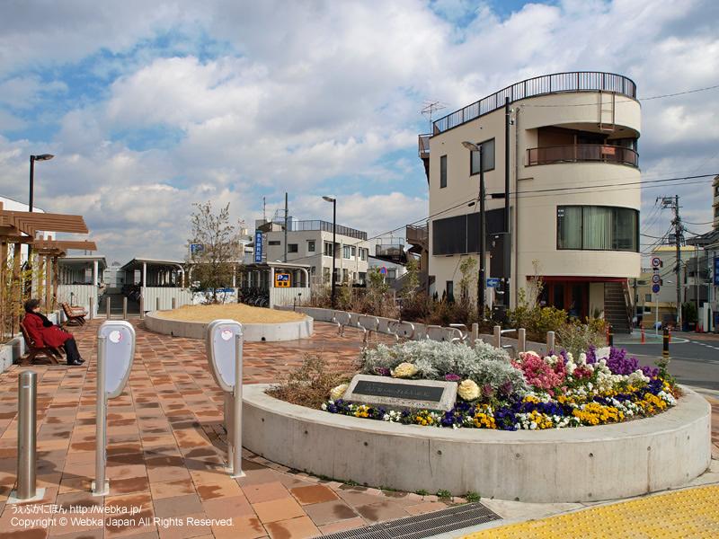 洗足駅前の広場 - photo8