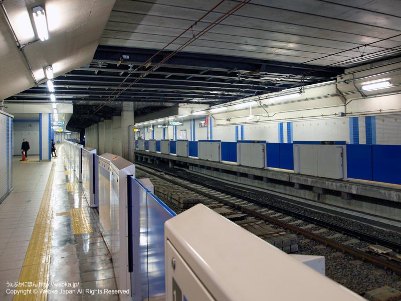 洗足駅のホーム - photo4