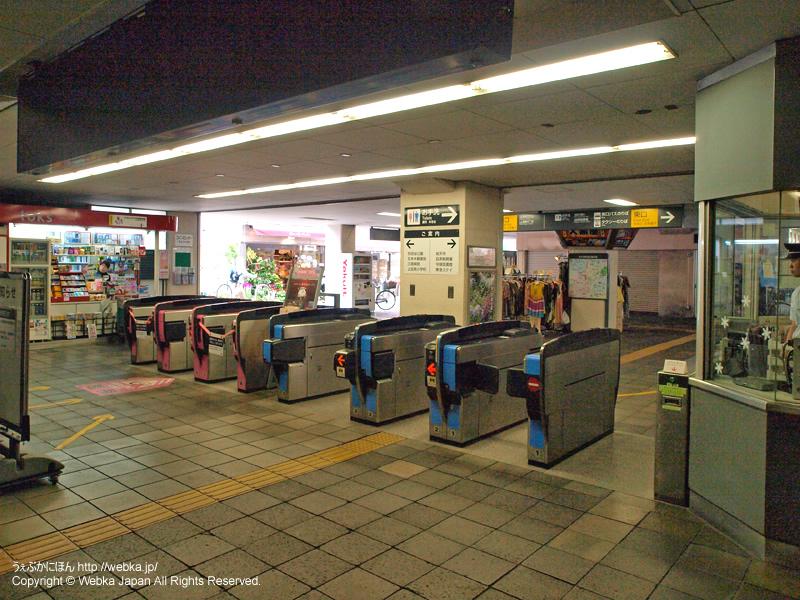 祐天寺駅の改札(駅構内より撮影) - photo8