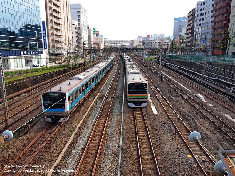 青木橋より横浜駅方面を望む - photo13