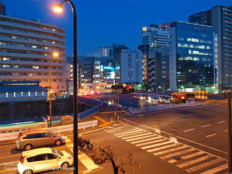 夜の青木橋交差点 - photo16