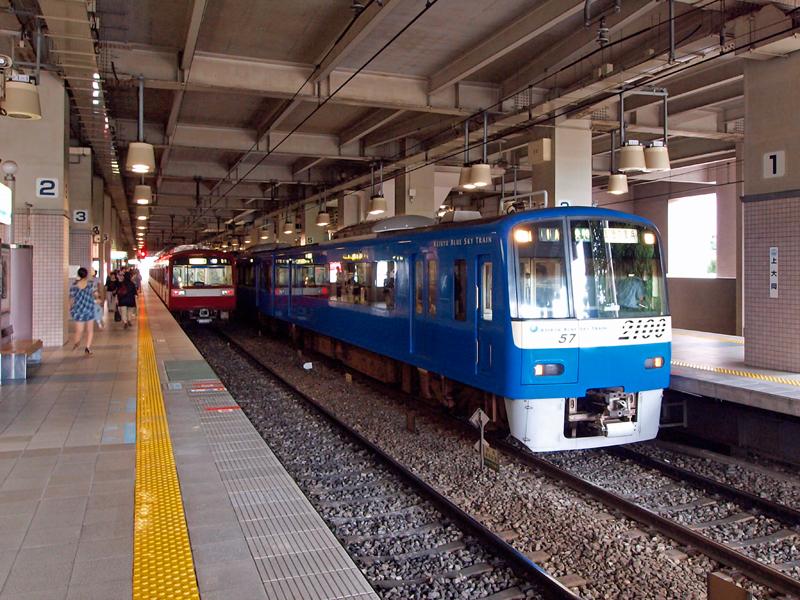 上大岡駅のホーム - photo3