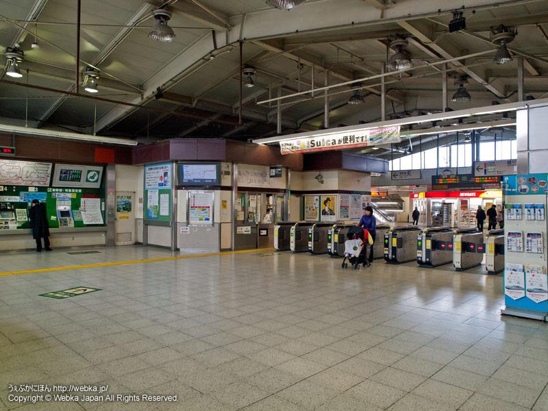 JR戸塚駅の2階の改札 - photo6