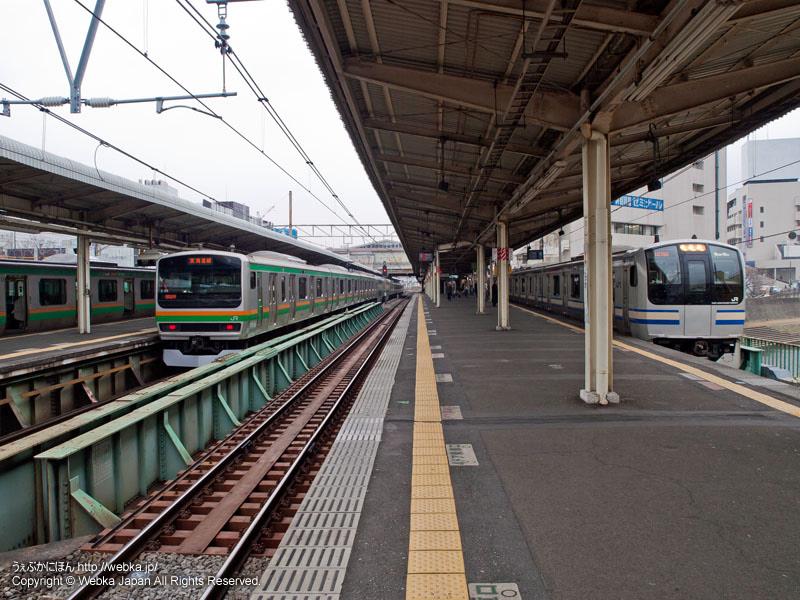 JR戸塚駅のホーム - photo3