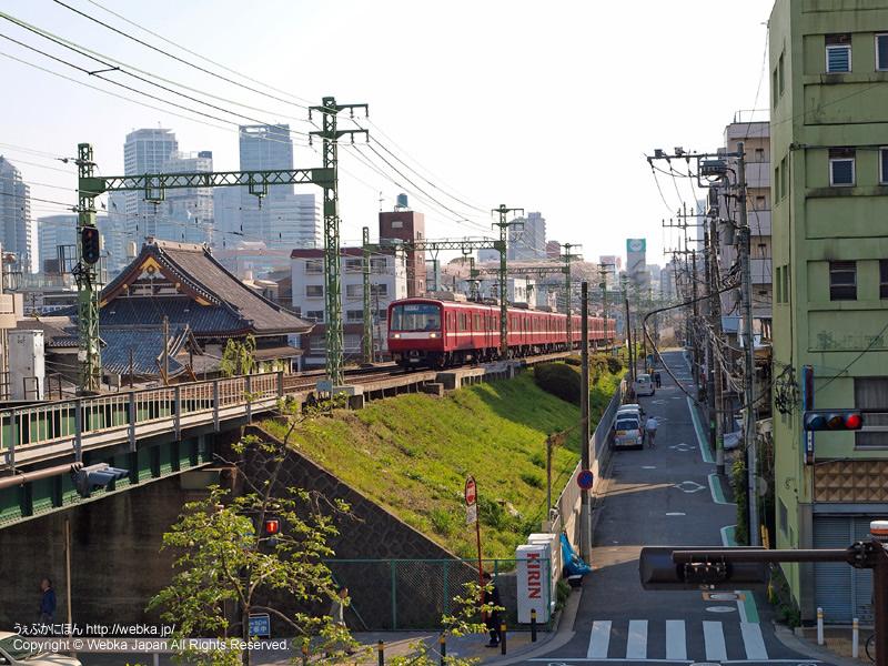 仲木戸駅前ペデストリアンデッキから横浜方面を望む - photo12