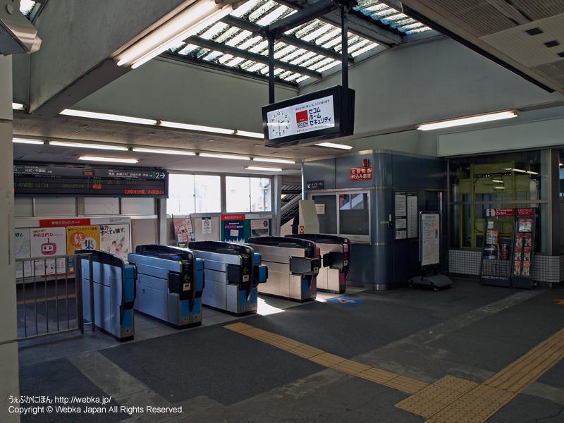 白楽駅2階改札 - photo8