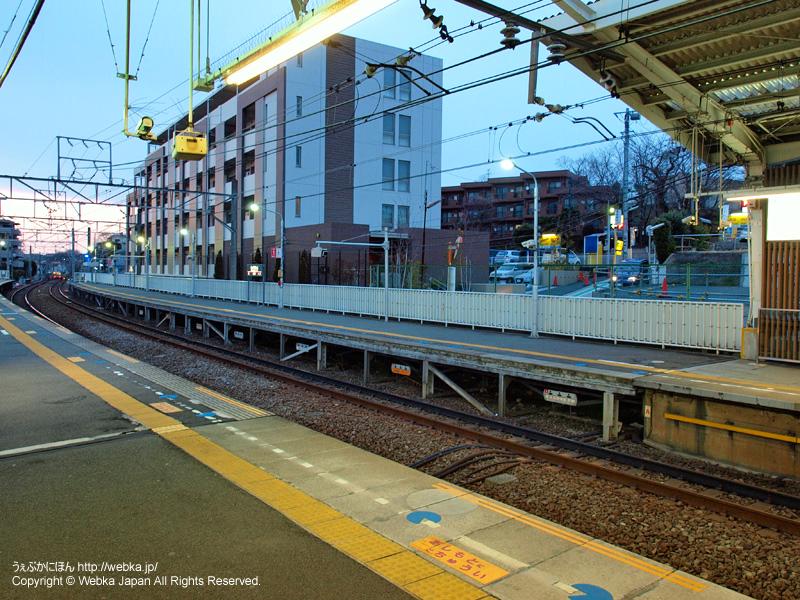 妙蓮寺駅の2番ホームより渋谷方面を望む - photo9