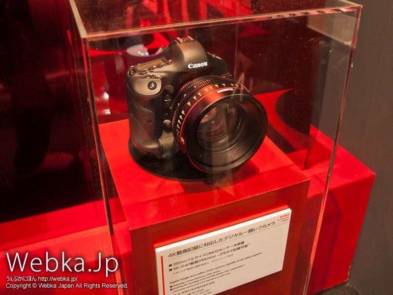 4K動画記録に対応したデジタル一眼レフカメラ