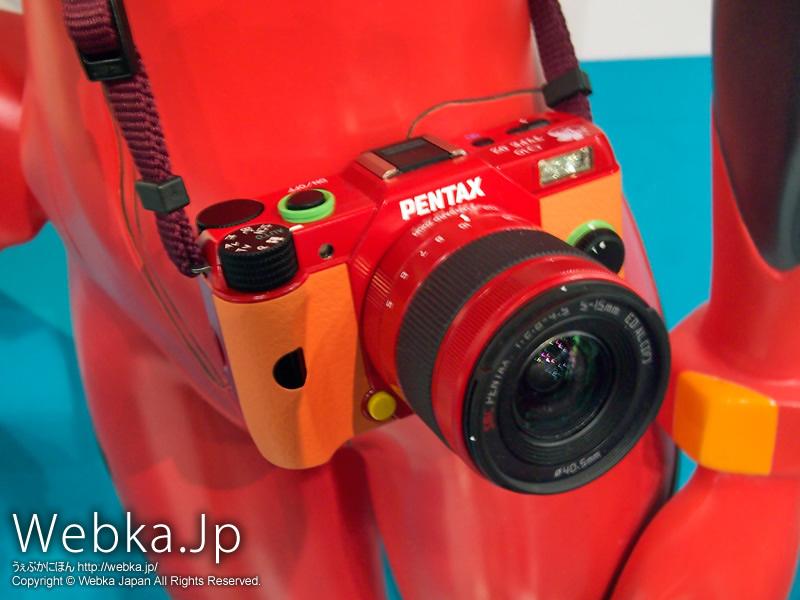 PENTAX Q10エヴァンゲリオンモデル TYPE02:アスカ