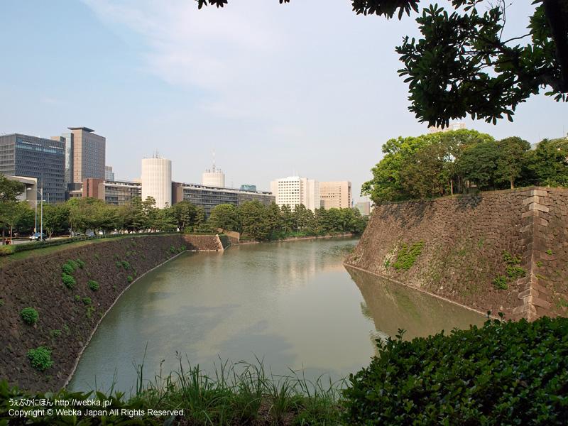 皇居東御苑 北桔橋からの眺め