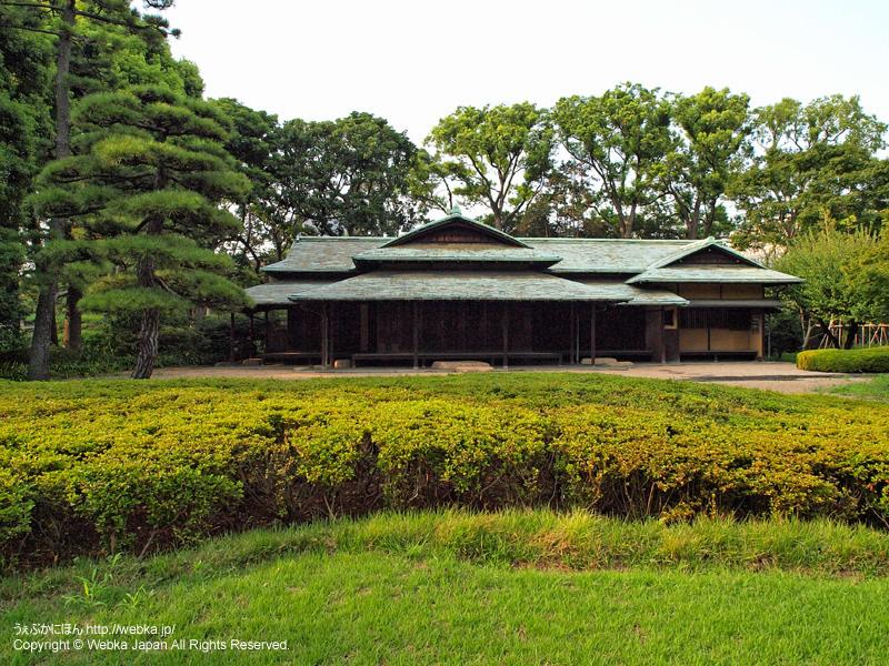 皇居東御苑 諏訪の茶屋