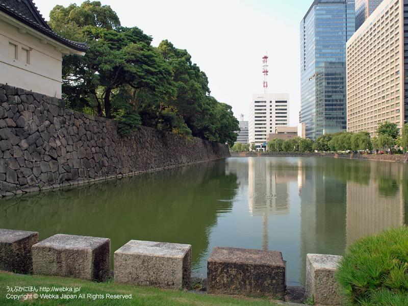 皇居東御苑 大手門からの眺め