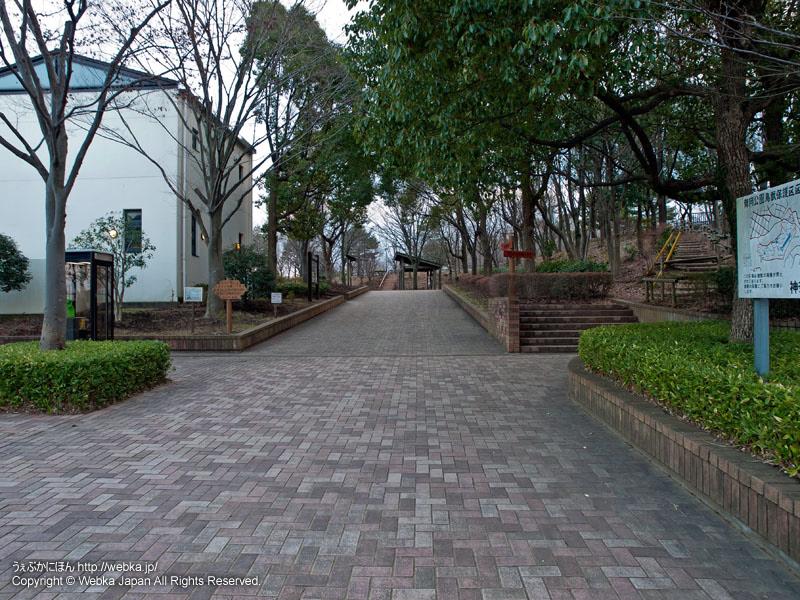 舞岡公園の入口付近